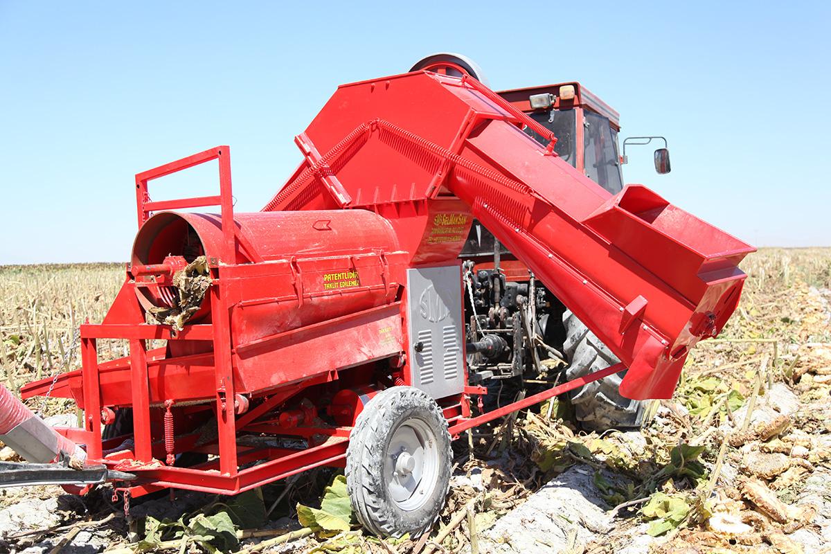 Conveyor Sunflower Seed Thresher