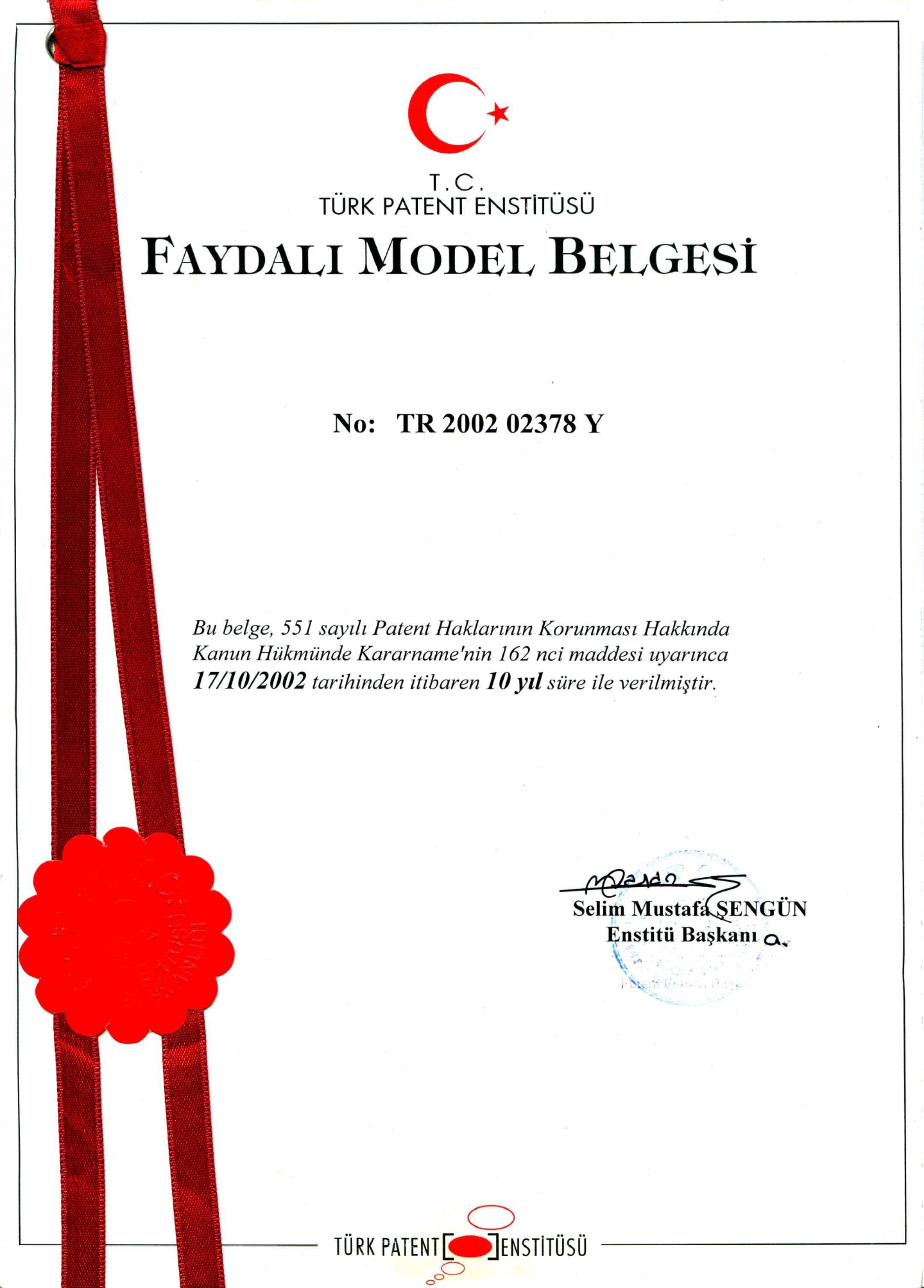 Useful Model Document