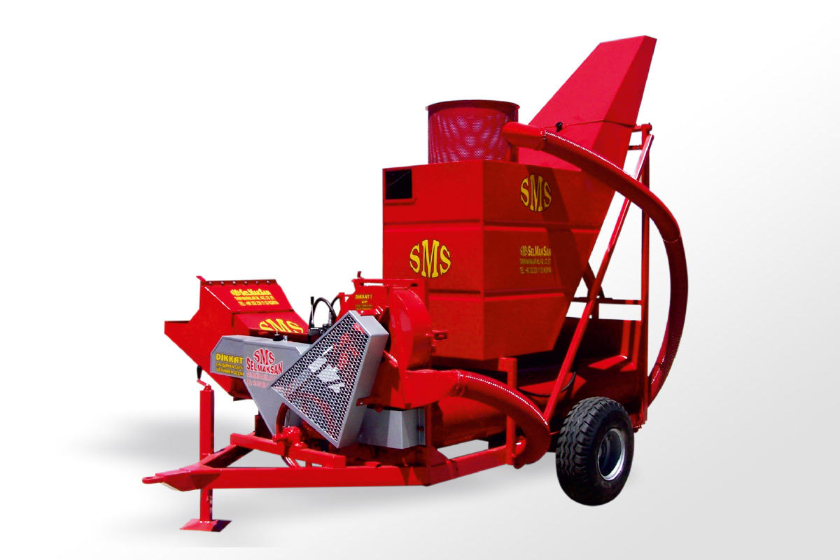 D.P 2400- Pumpkin Seed Harvesting Machine With Depot1