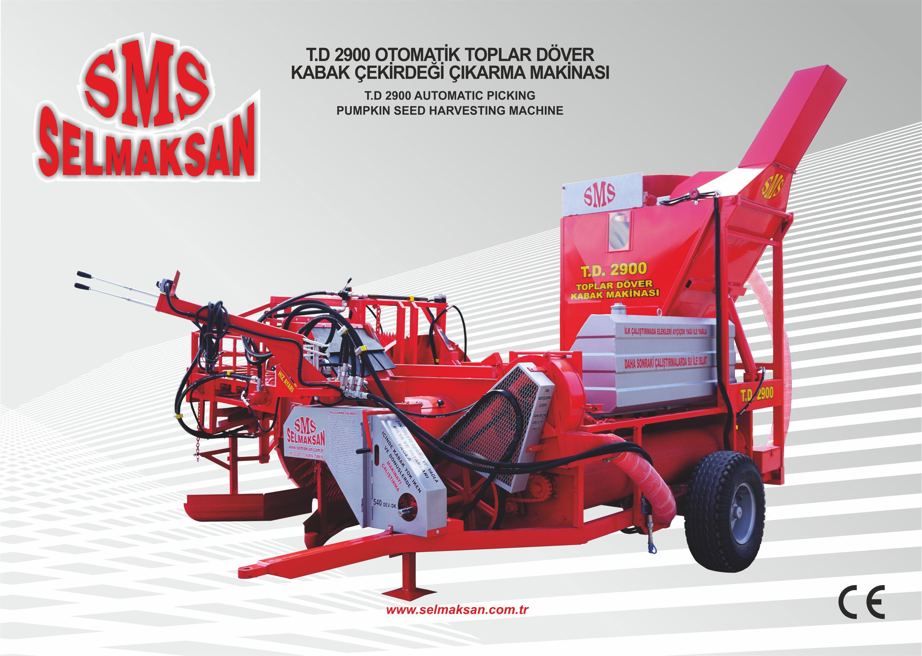 T.D 2900-Otomatik Toplar Döver Kabak Çekirdeği Çıkarma Makinesi_detail_0