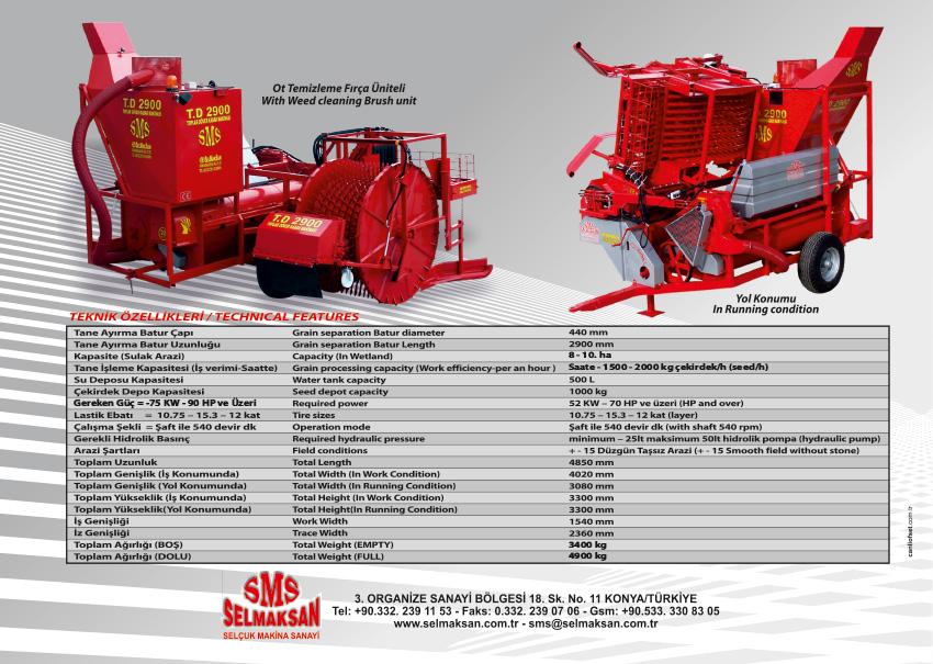 T.D 2900-Otomatik Toplar Döver Kabak Çekirdeği Çıkarma Makinesi_detail_1