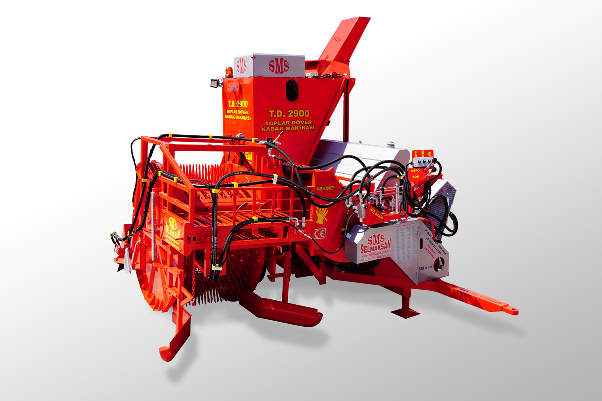 T.D 2900-Automatic Picking Pumpkin Seed Harvesting Machine2