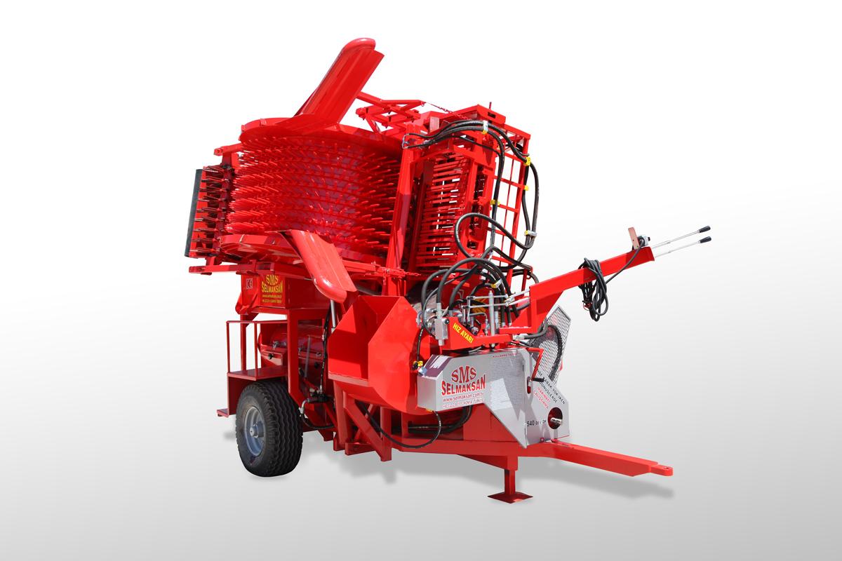 T.D 2900-Automatic Picking Pumpkin Seed Harvesting Machine3