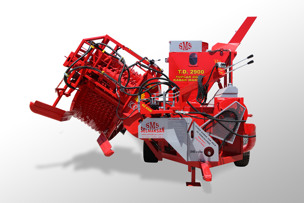 T.D 2900-Automatic Picking Pumpkin Seed Harvesting Machine4