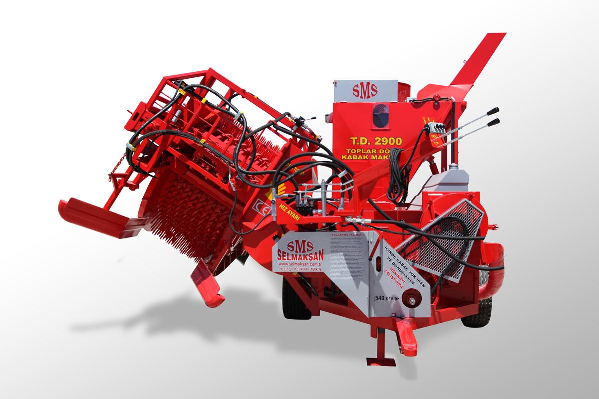 T.D 2900-Automatic Picking Pumpkin Seed Harvesting Machine4