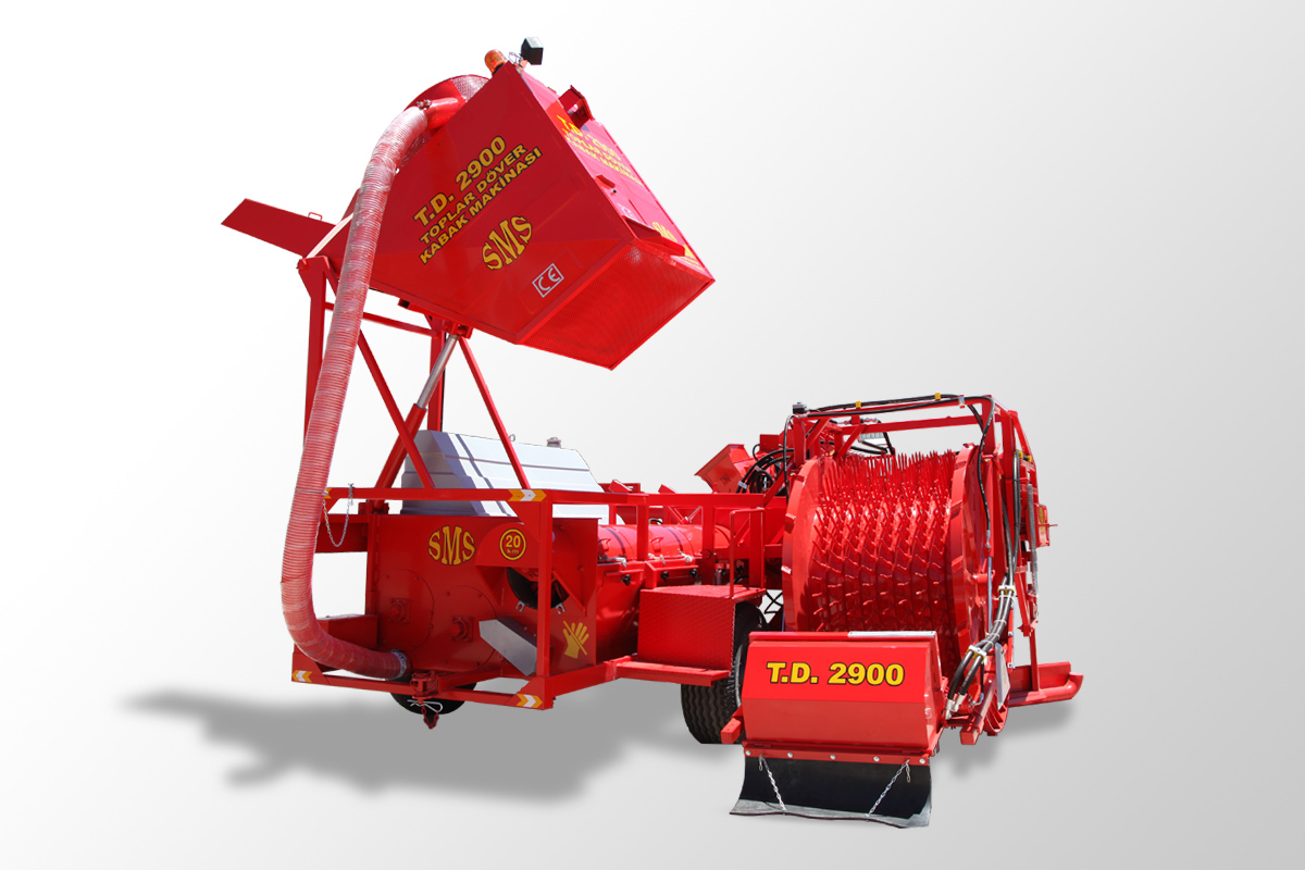T.D 2900-Automatic Picking Pumpkin Seed Harvesting Machine5